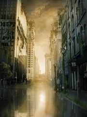 Abandoned city photo by simpli58