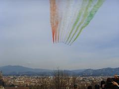 Il Tricolore sopra Firenze