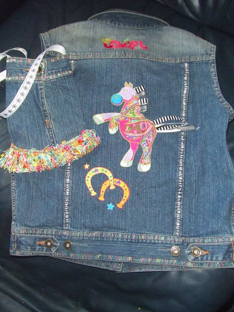 Embroidery Jacket Jean Machine 171 Embroidery Amp Origami