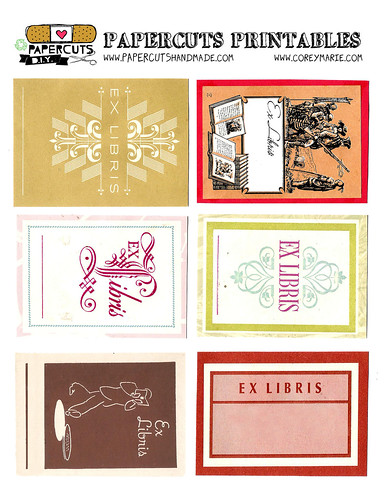 bookplate templates for word - classroom library set up personal style labeling books