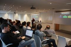 Speaking in Barneveld, Holland
