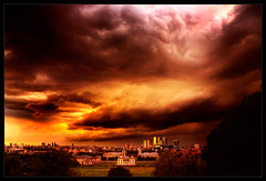 Apocalypse....                                                    Economic-storms-over-London photo by pic fix