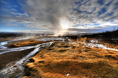 Geysir Area, Haukadalur valley - Iceland photo by 5ERG10