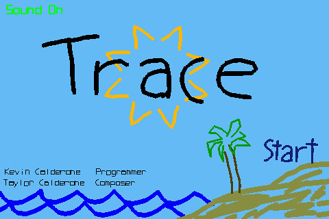 Trace - Home Screen