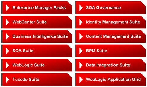 Oracle Middleware Suites