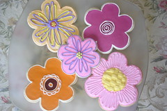 Flower Cookies photo by balkin designs