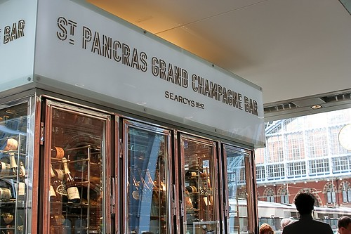 St Pancras Grand Champagne Bar