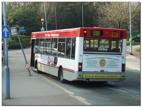 Plymouth Citybus 20 R120OFJ