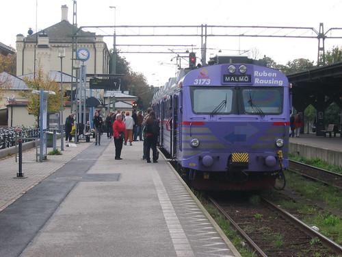 Lund station, Sweden