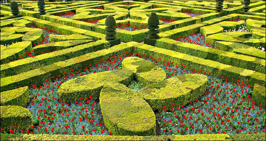 Chateau de villandry photodelusions for Jardin villandry
