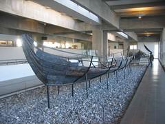 Viking ship museum in Roskilde, Denmark