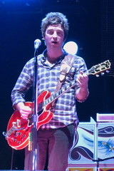 Oasis Concert - Noel Gallagher playing Champagne Supernova photo by Anirudh Koul