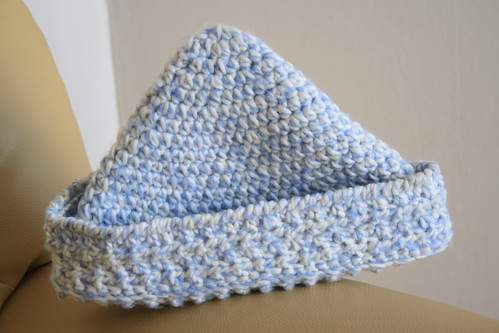 Little blue boy hat