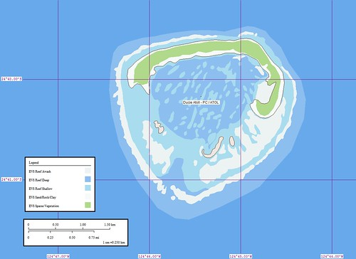 Ducie Island - Map