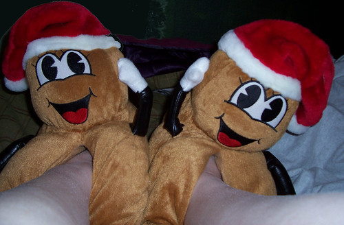Mr. Hanky slippers