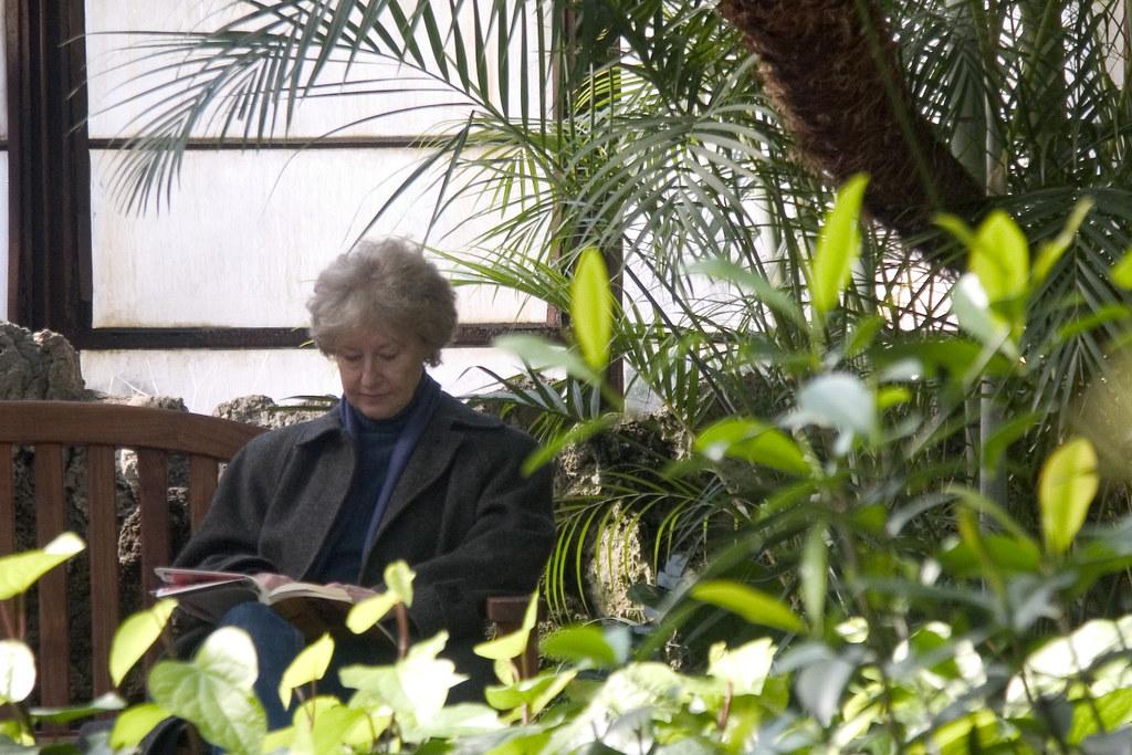 温室の愛書家 reader of the conservatory
