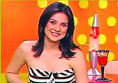 Silvia cuando apareció en Sweet un viernes de 2005