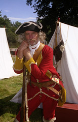 English soldier in 'Canada' 1757 photo by Whipper_snapper