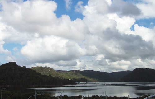Clouds over Woy Woy Bay