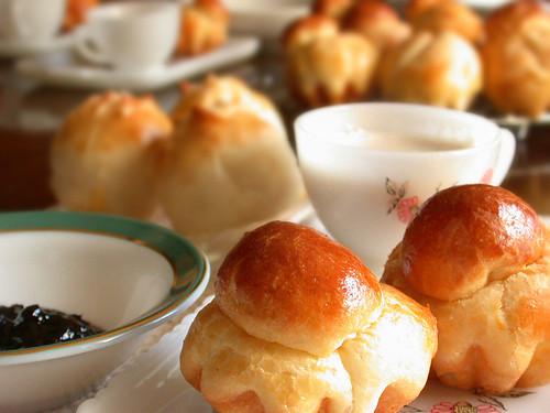 ブリオッシュの朝食