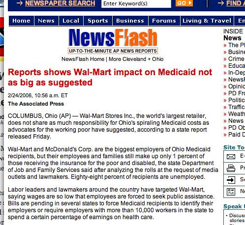 Walmart Ohio News Story #2