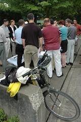 Freightliner bike commute challenge kickoff