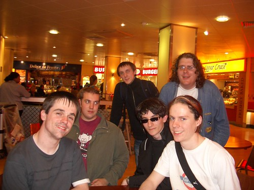Barry Thomas Chris Toni Larry and Paul at Euston 2046