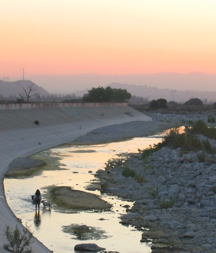 Sunset Tujunga Wash (Sept. 2)