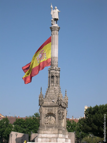 Estatua de Colón, Madrid