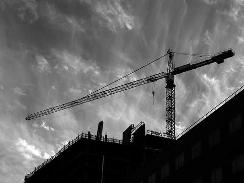 Crane and Sky