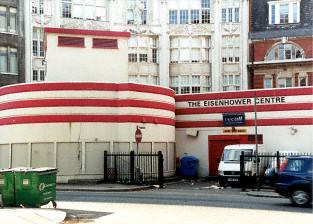 Entrance to Goodge Street Deep Level Shelter - Picture by Hywel Williams