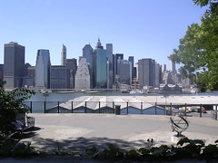 View of Manhattan at the Brooklyn Heights Promenade