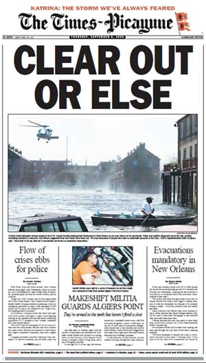 Times-Picayune 09/08/2005