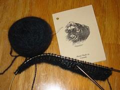 Qiviut scarf