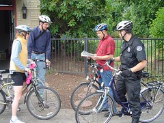 Bike Safety Leadership Workshop ride