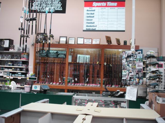 Wal-Mart Gun Rack