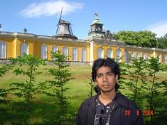 Neue Kammern kat Park Sanssouci, Potsdam, Germany