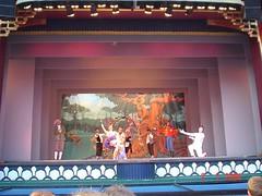 Persembahan Pantomime kat Dalam Tivoli Garden, Copenhagen, Denmark
