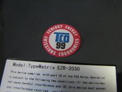 TypeMatrix EZR-2030 TCO99