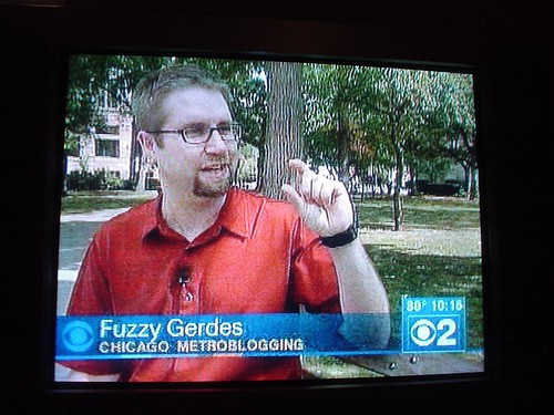 Fuzzy on CBS 2 Chicago