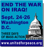 End The War On Iraq!