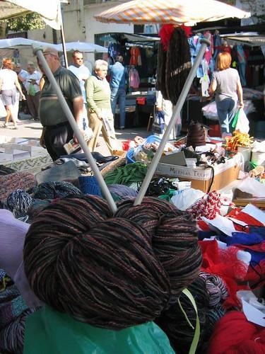 Materia prima de bufanda