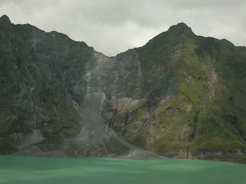 pinatubo crater center