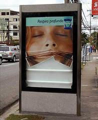 Campaña en vía pública