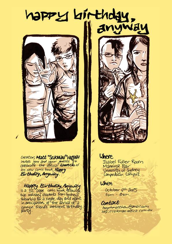 Fw: Comic Book Launch Invitation -