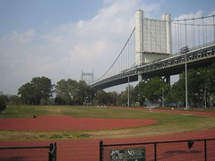 Triboro Bridge and Astoria Park Track