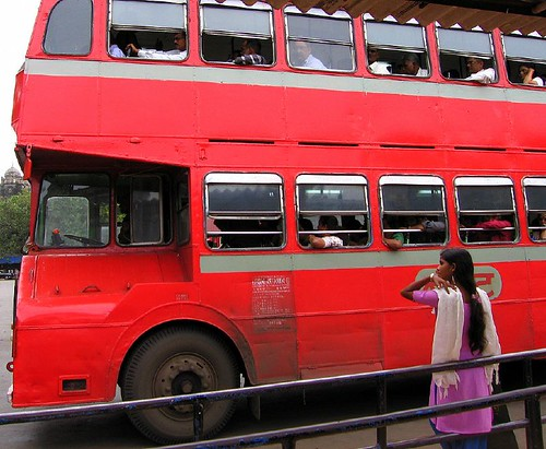 B.E.S.T Double Decker Bus Bombay