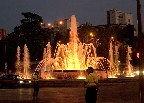 Castellana Fountain