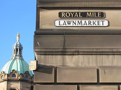 Royal Mile Sign