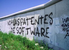 No a las patentes de software